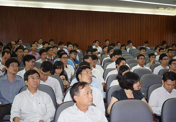 Hội thảo đã thu hút nhiều nhà khoa học, chuyên gia, nhà nghiên cứu, giảng viên và sinh viên